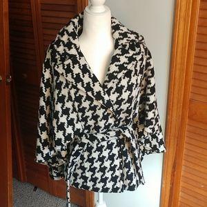 New york& company cape coat xs/s